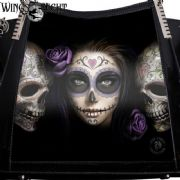 ANNE STOKES Gothic Day of The Dead 3D Handbag